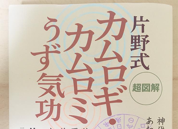 書籍 片野貴夫 カムロギ・カムロミうず気功