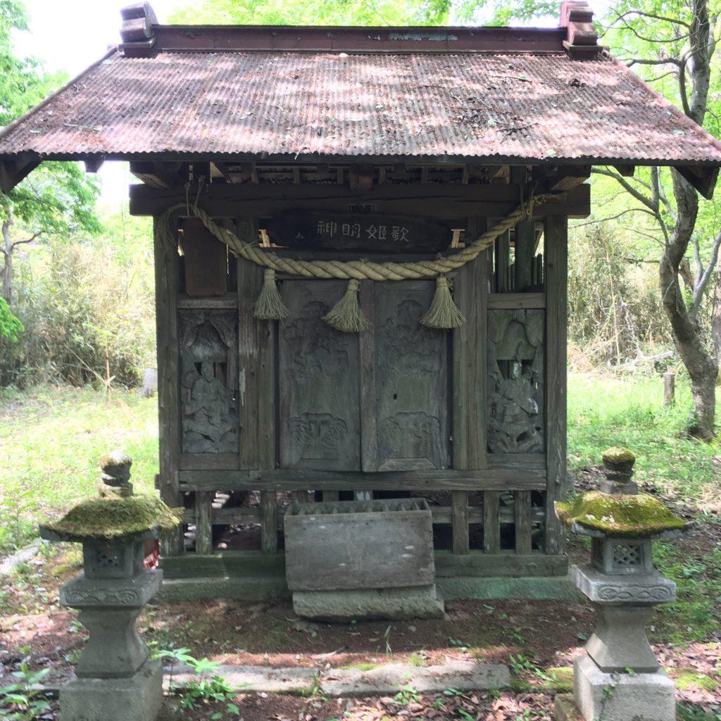 歌姫神社 祠