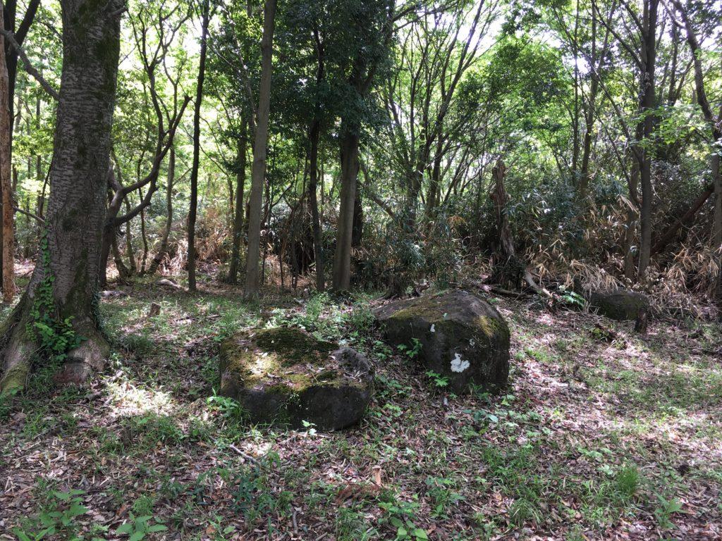 歌姫神社 不思議な石